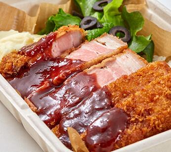 roasted pork cutlet 990 / 972(*t/o)