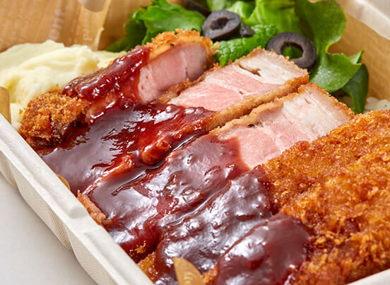 pork cutlet - low-temperature cooking ¥990 / ¥972(*t/o)