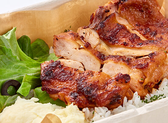 grilled chicken 880 / 864(*t/o)
